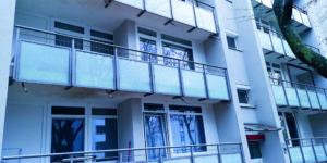 Mehrerer Balkon Aluminium Geländer